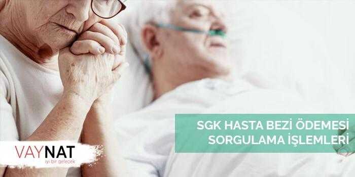 SGK Hasta Bezi Ödeme Sorgulaması
