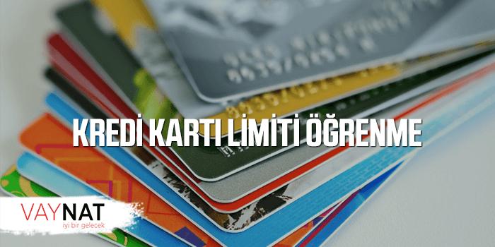 Kredi Kartı Limiti Öğrenme