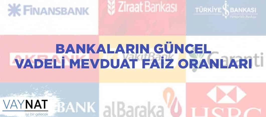Photo of Bankaların Güncel Vadeli Mevduat Faiz Oranları 2019