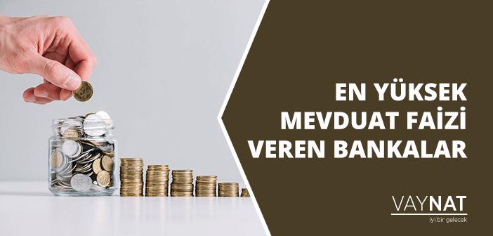 Photo of En Yüksek Mevduat Faizi Veren Bankalar Hangileridir?