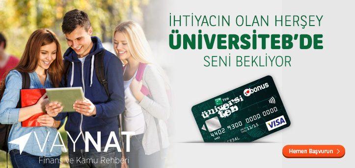 TEB Öğrenciye Kredi Kartı