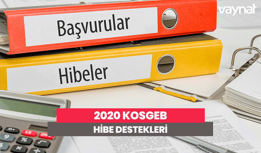 KOSGEB Hibe Destekleri 2020