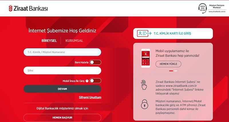 Ziraat Bankası İnternet Bankacılığı Rehberi 2020 | Vaynat.com