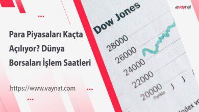 Para Piyasaları Kaçta Açılıyor? Dünya Borsaları İşlem Saatleri